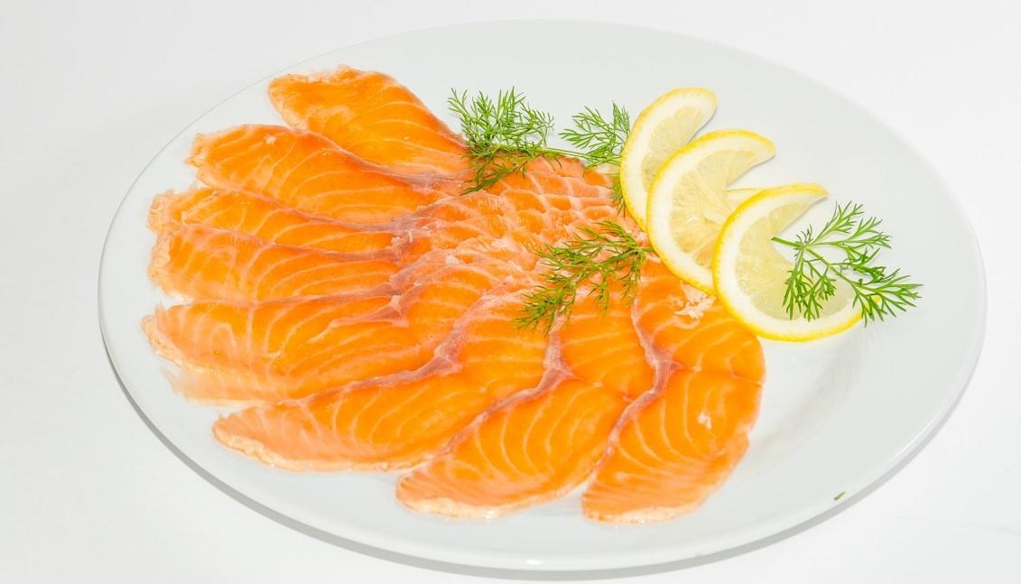 Le saumon, riche en vitamines