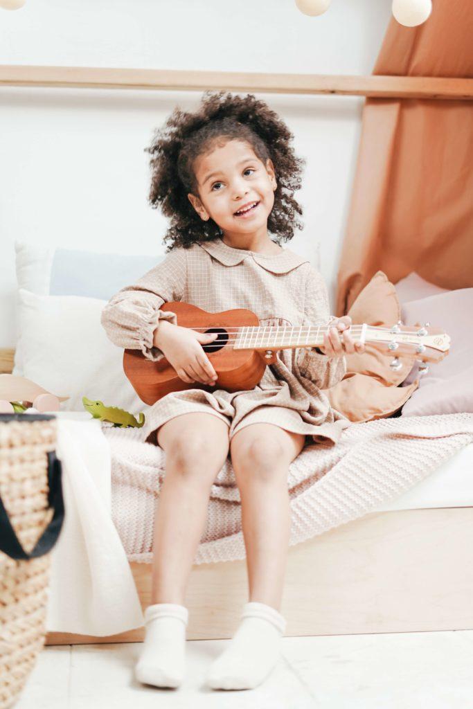 Jeune musicienne dyslexique